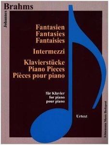 Brahms, Fantasien, Intermezzi und Klavierstücke