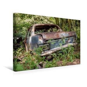Premium Textil-Leinwand 45 cm x 30 cm quer Rostlaube - Opel Kade