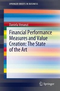 Financial performance measures and value creation: the state of