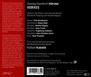 Xerxes-Oper in 3 Akten nach N.Minato