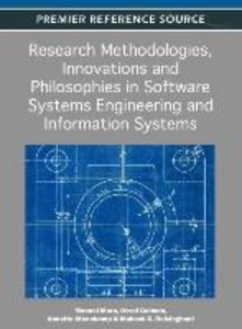Research Methodologies, Innovations and Philosophies in Software