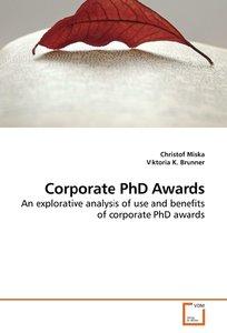 Corporate PhD Awards