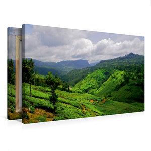 Premium Textil-Leinwand 75 cm x 50 cm quer Sri Lanka Hochland