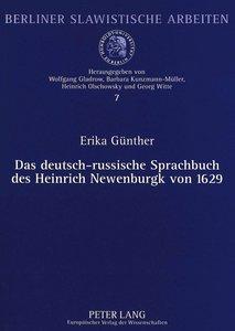 Das deutsch-russische Sprachbuch des Heinrich Newenburgk von 162
