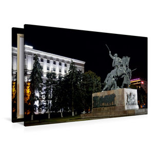 Premium Textil-Leinwand 120 cm x 80 cm quer Denkmal für die Sold