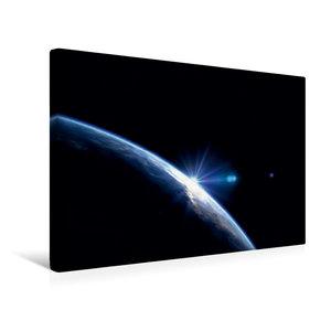 Premium Textil-Leinwand 45 cm x 30 cm quer Der blaue Planet