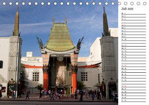 Kalifornien USA (Tischkalender 2020 DIN A5 quer)