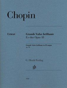 Grande Valse brillante Es-dur op. 18