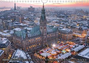 Hamburg Stadt an der Alster und Elbe (Wandkalender 2020 DIN A4 q