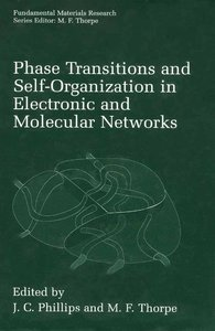 Phase Transitions and Self-Organization in Electronic and Molecu