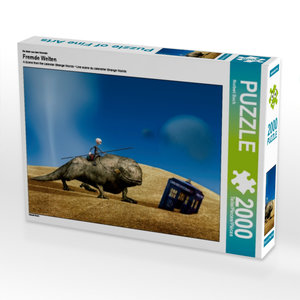 Ein Motiv aus dem Kalender Fremde Welten 2000 Teile Puzzle quer