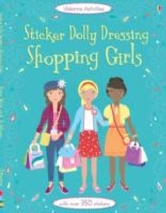 Sticker Dolly Dressing: Shopping Girls