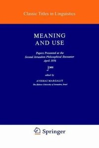 Meaning and Use