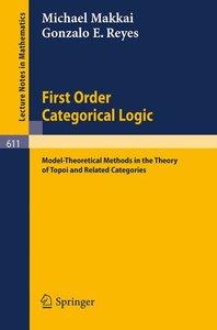 First Order Categorical Logic