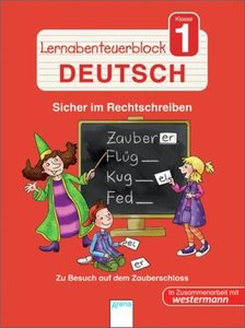 Lernabenteuerblock Klasse 1 Deutsch