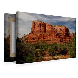 Premium Textil-Leinwand 45 cm x 30 cm quer Sedona - Red Rocks