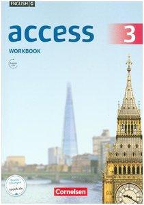 English G Access 3: 7. Schuljahr.Workbook mit Audio-CD