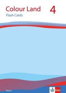 Colour Land ab Klasse 3. 4.Schuljahr. Flash Cards. Bayern