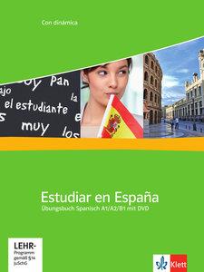 Estudiar en Espana A1-A2-B1. Übungsbuch mit Video-DVD
