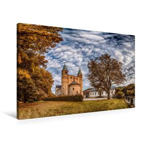 Premium Textil-Leinwand 90 cm x 60 cm quer Stiftskirche St. Cyri