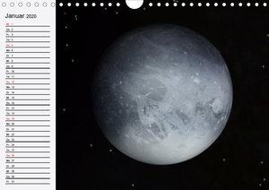 Sonne, Monde und Planeten (Wandkalender 2020 DIN A4 quer)