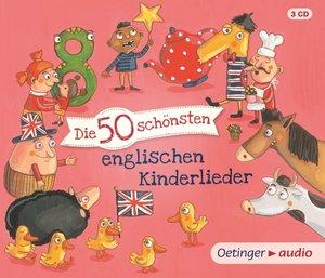 Die 50 schönsten englischen Kinderlieder (3CD)