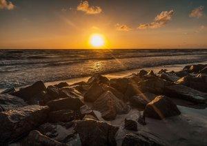 Wasser Wind Sand und Sonne (Posterbuch DIN A2 quer)