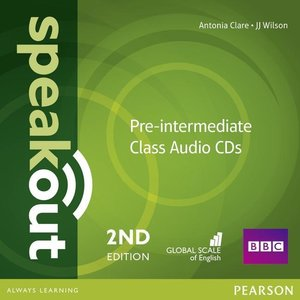 Speakout Pre-Intermediate 2nd Edition Class CDs (3)