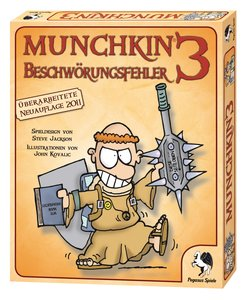 Pegasus Spiele 17213G - Munchkin 3: Beschwörungsfehler