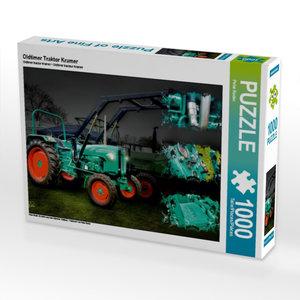 Oldtimer Traktor Kramer 1000 Teile Puzzle quer