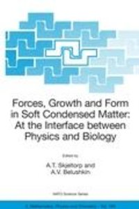 Forces, Growth and Form in Soft Condensed Matter: At the Interfa