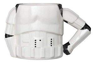 STAR WARS Stormtrooper, Tasse Torso mit 3D Arm, weiß, Mug, 350 m