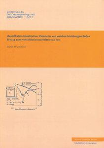 Identifikation konstruktiver Parameter von weichen feinkörnigen