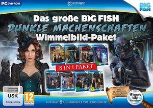 Das große Big Fish Dunkle Machenschaften-Wimmelbild-Paket, 1 DVD