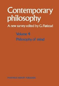 Philosophy of Mind/Philosophie de l'esprit