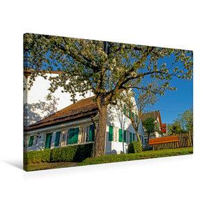 Premium Textil-Leinwand 75 cm x 50 cm quer Meilerhaus