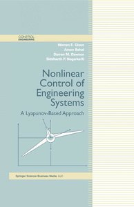 Nonlinear Control of Engineering Systems