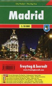 Madrid 1 : 10 000 City Pocket + The Big Five