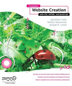 Foundation Website Creation with CSS, XHTML, and JavaScript