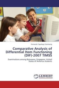 Comparative Analysis of Differential Item Functoning (DIF)-2007