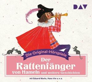 Der Rattenfänger von Hameln und weitere Geschichten, 1 Audio-CD