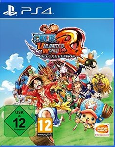 One Piece Unlimited World Red, 1 PS4-Blu-ray Disc (Deluxe Editio