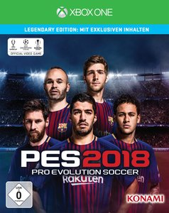 PES 2018 - Legendary Edition (Pro Evolution Soccer)
