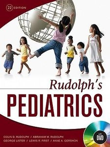 Rudolph\'s Pediatrics, 22nd Edition [With DVD]