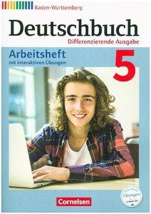 Deutschbuch Band 5: 9. Schuljahr - Differenzierende Ausgabe Bade
