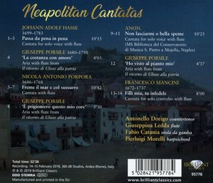 Neapolitan Cantatas
