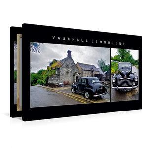 Premium Textil-Leinwand 90 cm x 60 cm quer Vauxhall Limousine, E