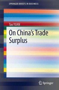 On China's Trade Surplus