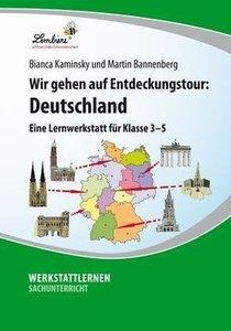 Wir gehen auf Entdeckungstour: Deutschland (CD-ROM)
