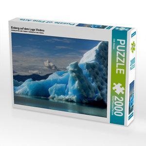 Eisberg auf dem Lago Viedma 2000 Teile Puzzle quer